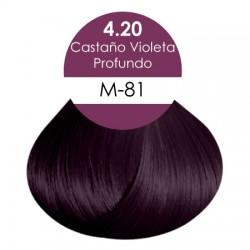 Castaño Violeta Profundo