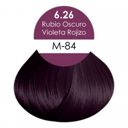 Rubio Oscuro Violeta Rojizo